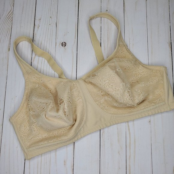 Warner's Other - Warners Nude Wire Free Lace Front Bra